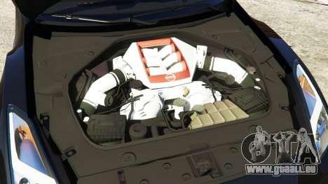 GTA 5 Nissan GT-R Nismo 2015 volant