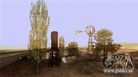 La texture des arbres de MGR pour GTA San Andreas quatrième écran