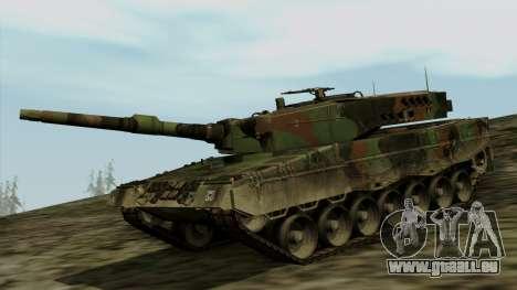 Leopard 2A4 für GTA San Andreas