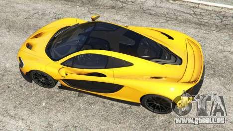GTA 5 McLaren P1 2014 Rückansicht