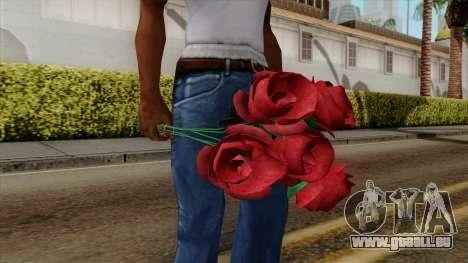 Original HD Flowers pour GTA San Andreas deuxième écran