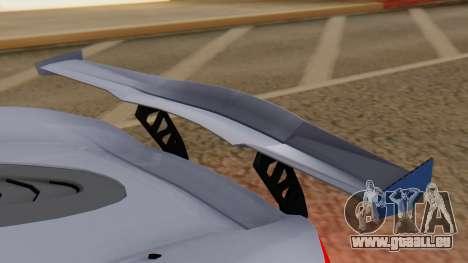 Progen T20 GTR für GTA San Andreas Innenansicht