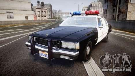 Chevrolet Caprice 1989 LAPD [ELS] pour GTA 4