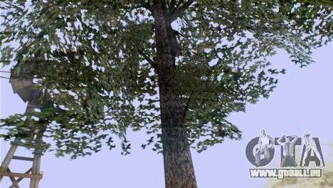 La texture des arbres de MGR pour GTA San Andreas deuxième écran