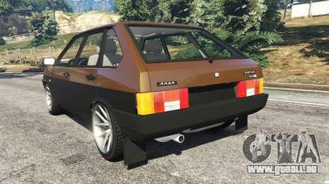 GTA 5 VAZ-21093i arrière vue latérale gauche