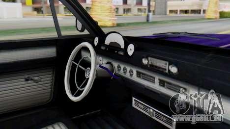 GTA 5 Declasse Voodoo IVF für GTA San Andreas rechten Ansicht