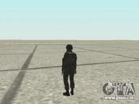 Pak-Kämpfer von speziellen Truppen von GRU für GTA San Andreas zwölften Screenshot