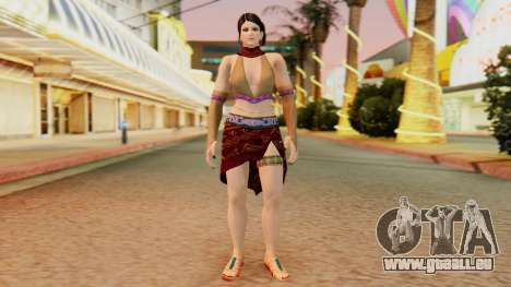 Zafina from Takken 6 v1 für GTA San Andreas zweiten Screenshot