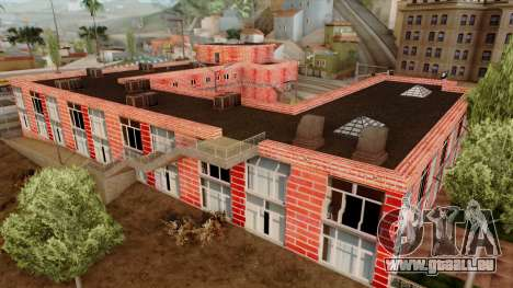 Motel Jefferson für GTA San Andreas her Screenshot