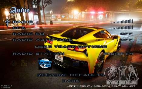 Night Menu pour GTA San Andreas quatrième écran