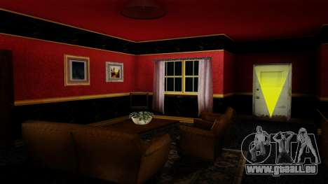 Retextured CJ ' s Haus in Scarface Stil für GTA San Andreas dritten Screenshot
