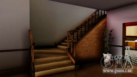 New Interior for CJs House pour GTA San Andreas cinquième écran