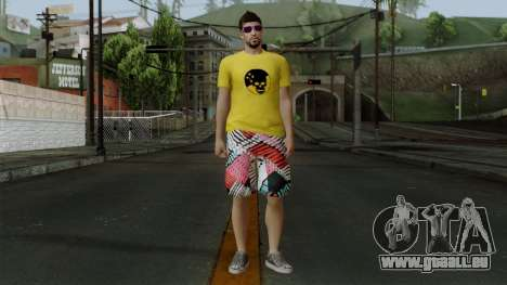 GTA 5 Online Wmygol2 pour GTA San Andreas deuxième écran