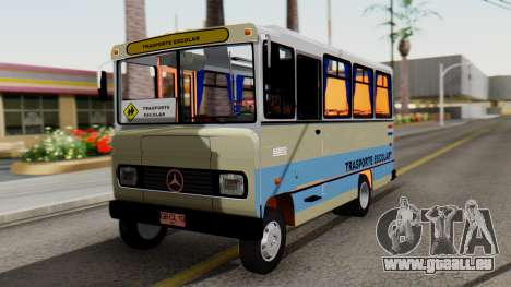 Mercedes-Benz LO-608D Paraguay School Bus pour GTA San Andreas