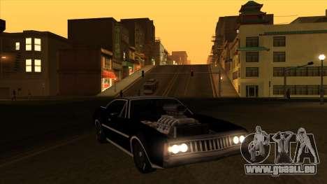 Muscle-Clover [BETA V.1] pour GTA San Andreas vue arrière