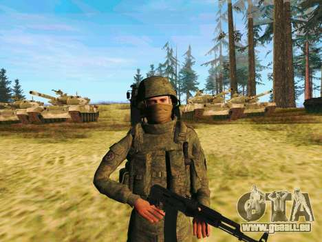 Pak combattants des troupes spéciales du GRU pour GTA San Andreas