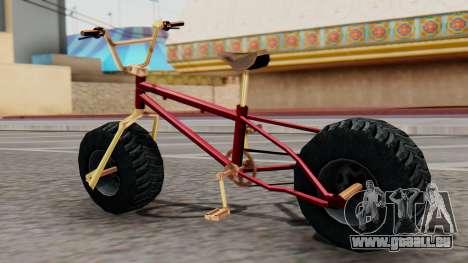 Monster BMX für GTA San Andreas linke Ansicht