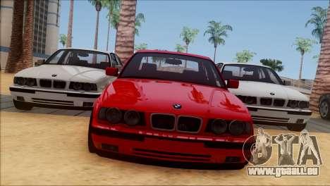 BMW M5 E34 BUFG Edition für GTA San Andreas