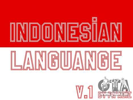 Indonesische Untertitel (In-Game Nur) für GTA San Andreas