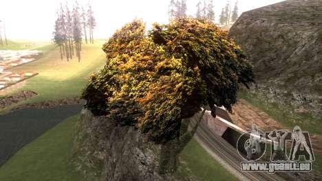 Vegetation Original Quality v3 für GTA San Andreas