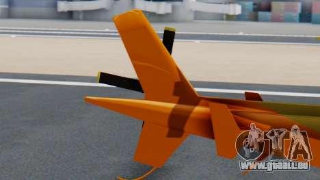 Swift Deluxe pour GTA San Andreas sur la vue arrière gauche