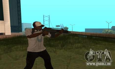 GTA 5 Special Carbine pour GTA San Andreas deuxième écran