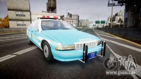 Chevrolet Caprice 1991 Police pour GTA 4