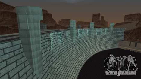 Barrage pour GTA San Andreas quatrième écran