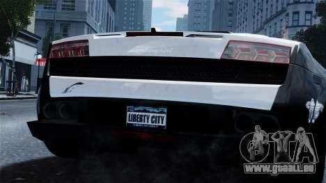 Lamborghini Gallardo LP560-4 pour GTA 4 est un droit