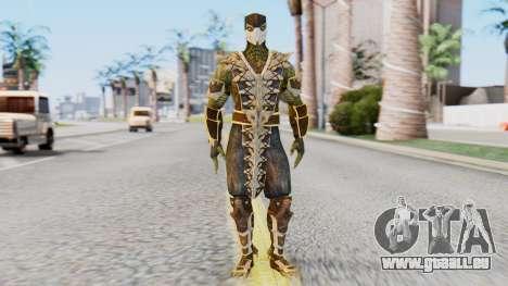 [MKX] Reptil für GTA San Andreas zweiten Screenshot