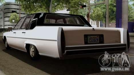 GTA 5 Albany Emperor für GTA San Andreas linke Ansicht