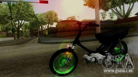 Honda Wave Desarmada Stunt pour GTA San Andreas