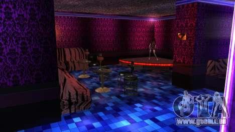 Reprojeter intérieur des clubs de strip-tease pour GTA San Andreas quatrième écran