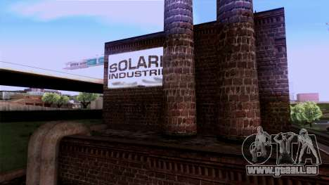HQ Textures San Fierro Solarin Industries für GTA San Andreas her Screenshot