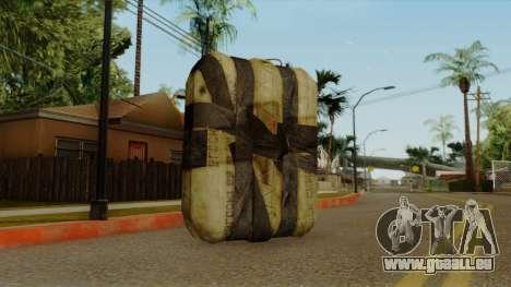 Original HD Satchel pour GTA San Andreas deuxième écran