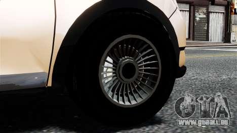 Dacia Logan MCV Stepway 2014 pour GTA 4 Vue arrière de la gauche