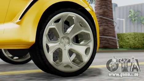 Ford Iosis für GTA San Andreas zurück linke Ansicht