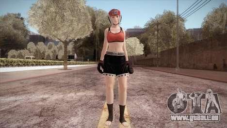 Mila Box pour GTA San Andreas deuxième écran