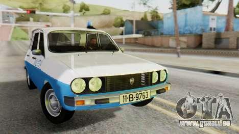 Dacia 1310 Militia pour GTA San Andreas