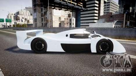 Toyota GT-One TS020 blank spoiler für GTA 4 linke Ansicht