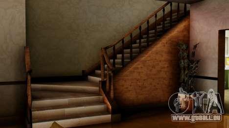 Le nouvel intérieur de la maison de CJ pour GTA San Andreas sixième écran