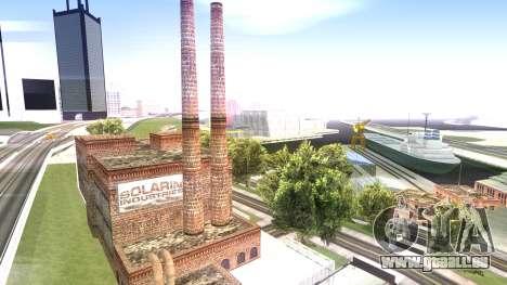 HQ Textures San Fierro Solarin Industries für GTA San Andreas zweiten Screenshot