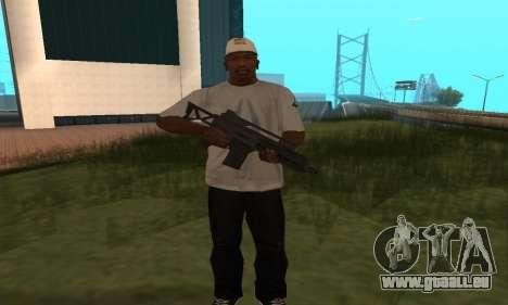 GTA 5 Special Carbine für GTA San Andreas dritten Screenshot