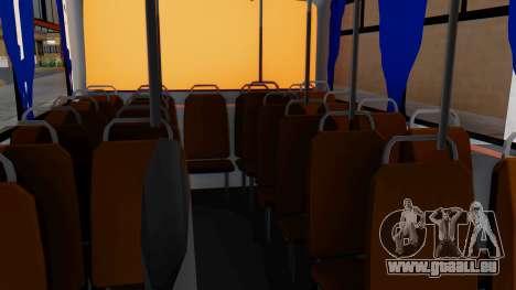 Mercedes-Benz LO-608D Paraguay School Bus pour GTA San Andreas vue arrière