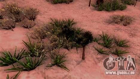 Véritable texture de la végétation pour GTA San Andreas troisième écran