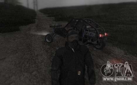 GTA5 Gasmask für GTA San Andreas sechsten Screenshot