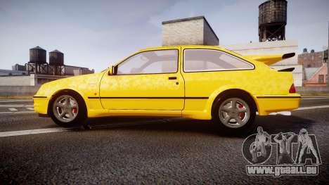 Ford Sierra RS500 Cosworth v2.0 pour GTA 4 est une gauche