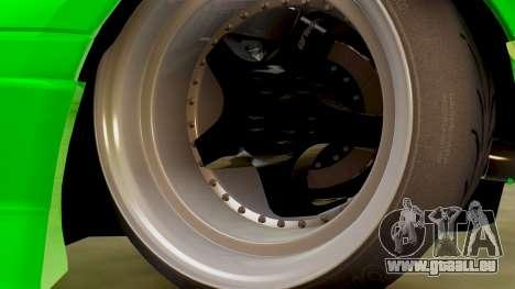 Mazda MX-5 BnSports pour GTA San Andreas vue intérieure