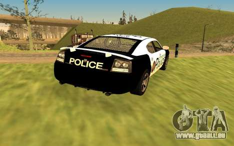 Dodge Charger Super Bee 2008 Vice City Police für GTA San Andreas linke Ansicht