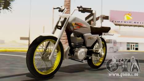 Suzuki AX 100 Stunt für GTA San Andreas